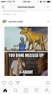 Funny Messed Up Memes 28 - a golden calf seriously you done messed up christian jokes