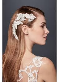 rhinestone hair leafy rhinestone hair vine david s bridal