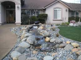 Front House Landscaping by Create Front Yard Landscaping With Rocks U2014 Porch And Landscape Ideas