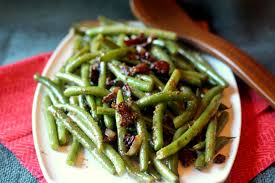 green bean thanksgiving recipes sauteed green beans with bacon and mustard glaze blackberry