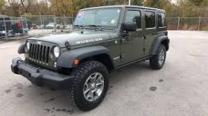jeep rubicon green used green jeep wrangler rubicon for sale from 11 995 to 84 460