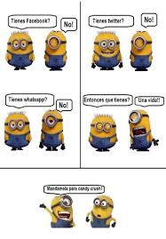 Minions Memes En Espaã Ol - redes sociales minion memes divertidos en espa祓ol pinterest