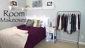 How To Bedroom Makeover - fall bedroom makeover how to decorate for autumn diy u0027s youtube