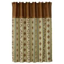 Southwest Shower Curtains Alamosa Southwest Shower Curtain 4w Western