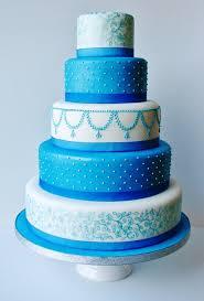 simple blue wedding cake wedding ideas for you