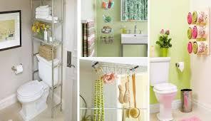 Organizing A Small Bathroom - creative storge idea for asmall bathroom organization home