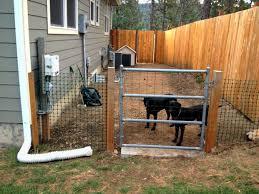 dog fence ideas crafts home