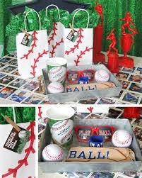 baseball party ideas sports party ideas at birthday in a box
