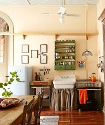Shabby Chic Kitchen Wallpaper by Kitchen Interior With Photo Wallpapers You Should Try Too Home