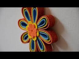 flores de foamy flores de goma eva o foamy para adornar macetas fofucha flor