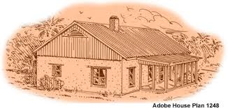 adobe home plans 2 bedroom adobe house plans adobe house plan 1248
