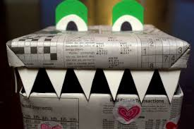 Valentine Decorated Boxes Ideas by Diy Valentine Monster Box Slangshot