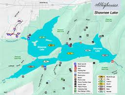 Pennsylvania lakes images Shawnee lake the alleghenies jpg