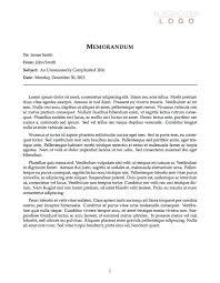 memo format template free memorandum template sample memo letter