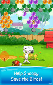 snoopy pop free match blast u0026 pop bubble game android apps