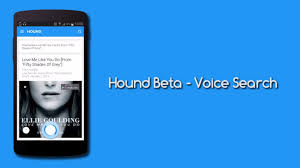 voice search app for android hound best voice search android app must app