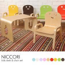 kids desk and chair set kodomotokurashi rakuten global market smile s deskcheaset kids