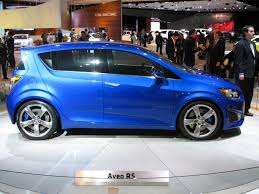 chevy sonic super sonic report says 2013 chevy sonic to get rs package