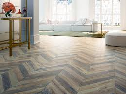 Tile Living Room Floors by Chevron Tile Herringbone Wood Look Tile Floor