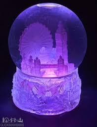 light up snow globe large light up london collage snowstorm snow globe