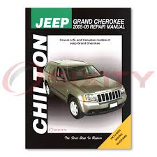 jeep grand cherokee chilton repair manual 65th anniversary edition
