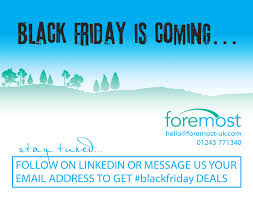 black friday is coming foremost blog u2013 cleaning industry news