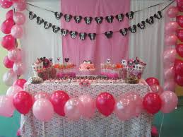 minnie mouse 1st birthday party ideas party decorations minnie mouse 1st birthday decorations ideas