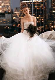 tulle strapless white designer wedding dress princess tulle
