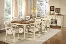 country dining room set creative white country dining table collection country dining room