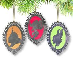maleficent ornament etsy