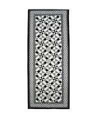 Tapis Salon Noir Et Blanc by Tapis De Passage Amazon Fr