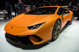 Lamborghini Huracan Design - lamborghini u0027s huracán performante looks like a demon in dreamsicle