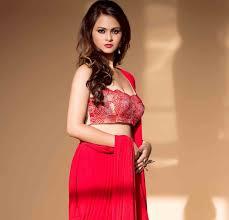satrupa red dress breakthrough