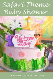 theme for baby shower safari animal theme baby shower decoration ideas