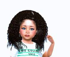 the sims 4 natural curly hair luna hair curly for the sims 4 sims curly and sims cc