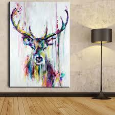 Cheap Framed Wall Art by Online Get Cheap Framed Deer Pictures Aliexpress Com Alibaba Group