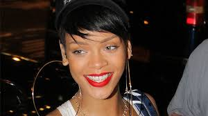 rihanna hoop earrings check out rihanna s ridiculously earrings entertainment tonight