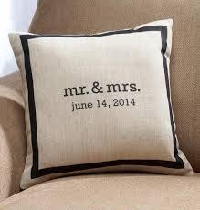 mr and mrs pillow mr mrs personalized pillow pillows custom cushions and pillow