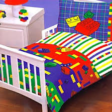 Lego Bedding Set Legos Bed In A Bag Toddler Crib Bedding Set