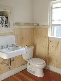 Installing Wainscoting In Bathroom - another diy adventure the bathroom renovation oinkety