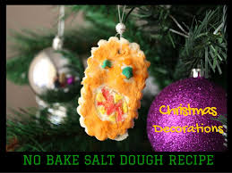 no bake salt dough ornaments great for