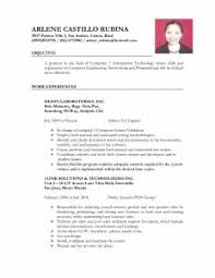 Welder Resume Sample by Examples Of Resumes Cover Letter Good Objective Resume Solution