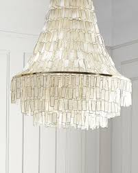 capiz shell lighting horchow com
