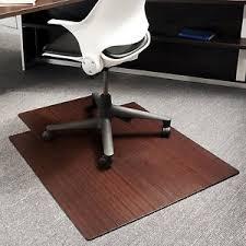 desk rug office chair wood floor mat pad desk computer hard tile area