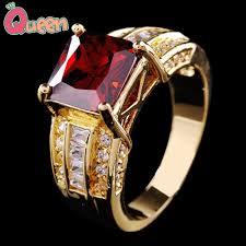 sz6 7 8 9 10 jewelry ruby sapphire gold rings men u0027s 10kt