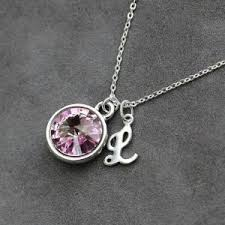 personalized birthstone necklace for alexandrite necklaces beadage