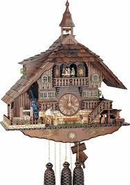 How To Wind A Cuckoo Clock Cuckoo Clock 8 Day Movement Chalet Style 58cm By Anton Schneider