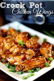 crock pot pineapple bbq chicken wings the country cook