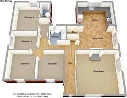 Bungalow Floor Plans Free 4 Bedroom Bungalow For Sale In Fakenham Road Docking Norfolk Pe31