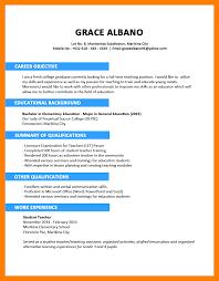 sample resume for teaching position sample resume for fresh graduate sample resume and free resume sample resume for fresh graduate 15 sample high school student resume sample resumes nn1itcff resume for